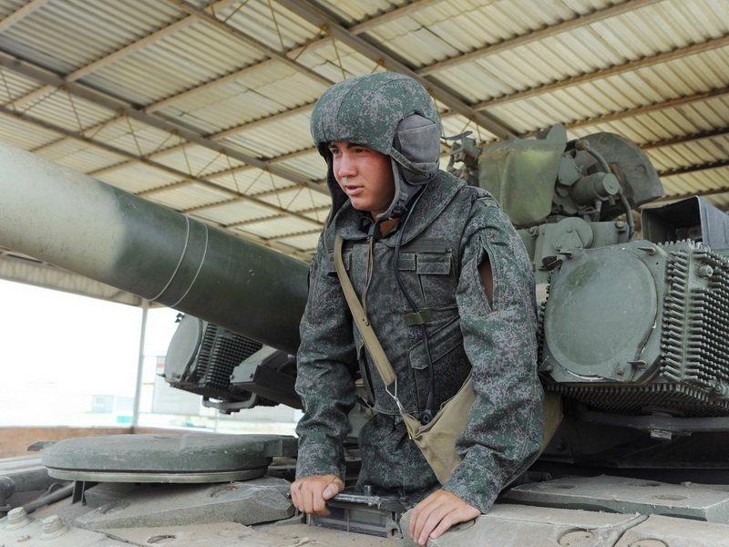 Новые комплекты формы Танковых войск России