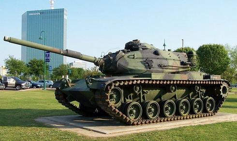 """Американский танк """"Паттон"""" времен холодной войны"""
