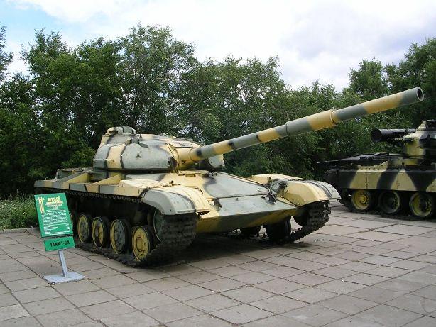 Советский Т-64 был противником американского танка M-60 в ряде локальных конфликтов