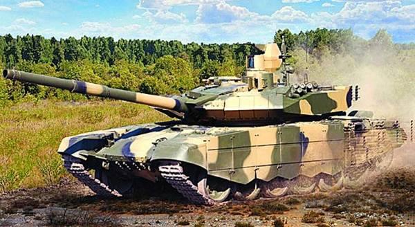 Новейшая модификация российского танка Т-90АМ