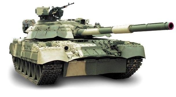 Самый быстрый отечественный танк Т-80