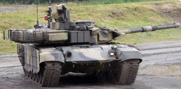 Показательные выступления Т-90МС