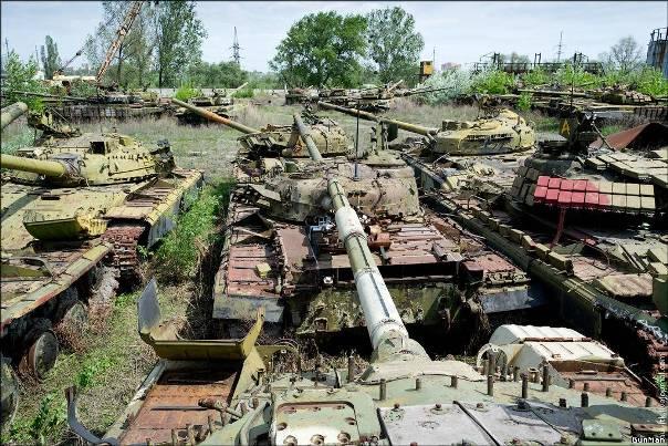 Печальная картина для любого настоящего танкиста
