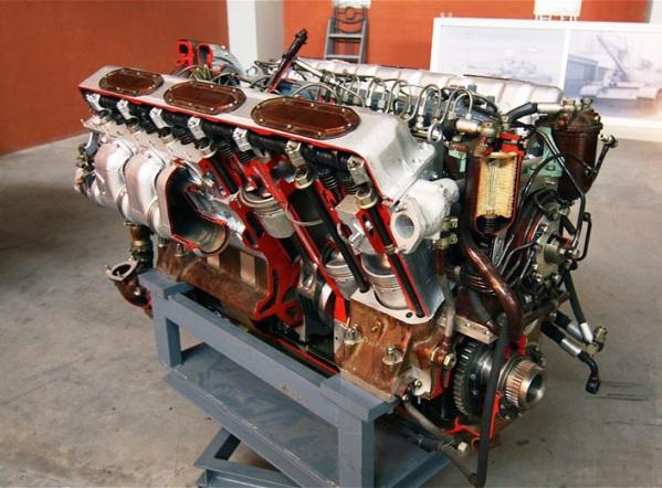 Двигатель Т-90