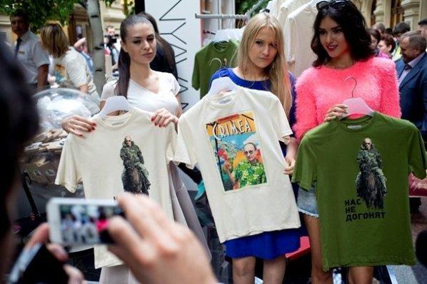 Высококачественные футболки с Владимиром Путиным - основной тренд 2014 года