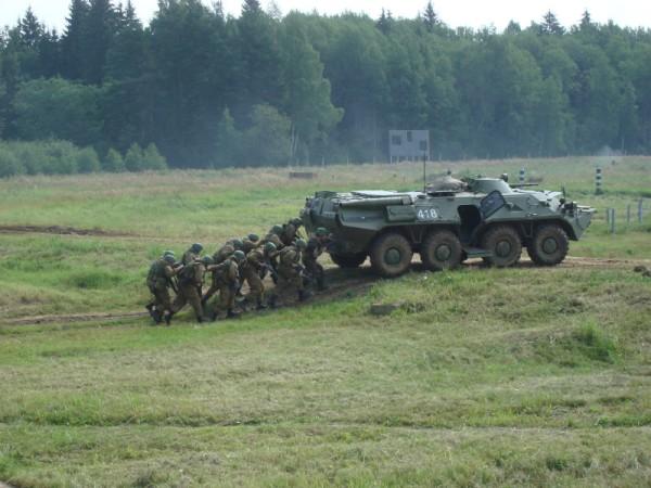 Для снижения боевых потерь в 45-м отдельном разведполку постоянно оттачивают тактику боя