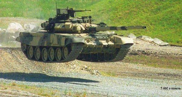 """Т-90С в прыжке. """"Абрамс"""", не пытайтесь повторить это дома!"""
