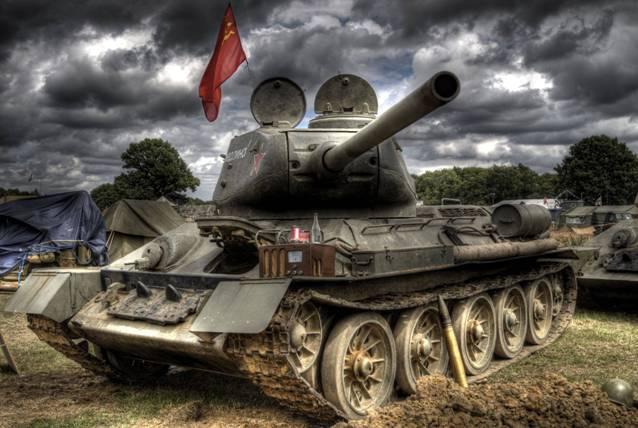 Легендарный советский танк Т-34-85