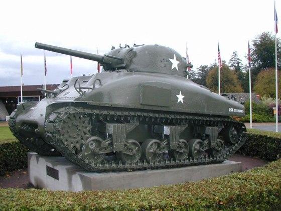 "Американский танк M4A1 ""Шерман"""