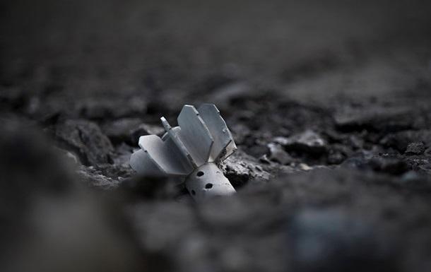 Украинские мины пока еще падают на землю Новороссии