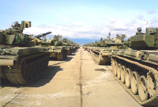 Танковый батальон - грозная сила стремительного прорыва