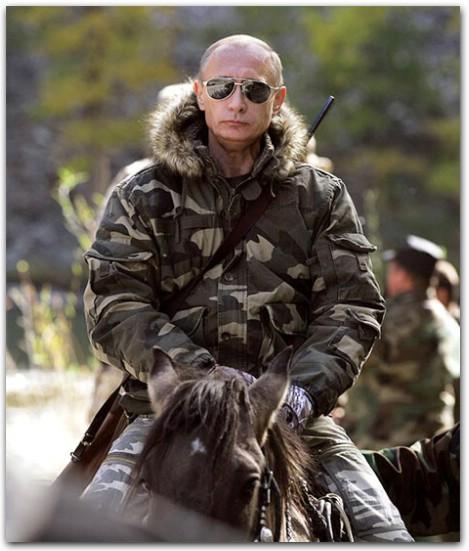 Изображение, легшее в основу многих футболок и толстовок с Путиным