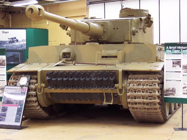 """Сегодня танк """"Тигр"""" можно встретить только в музеях"""