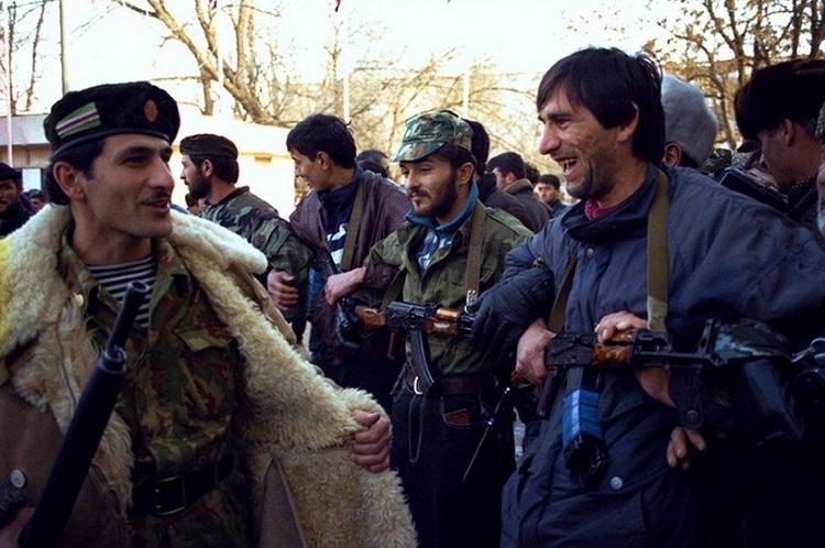 Чеченские сепаратисты. 1994 год