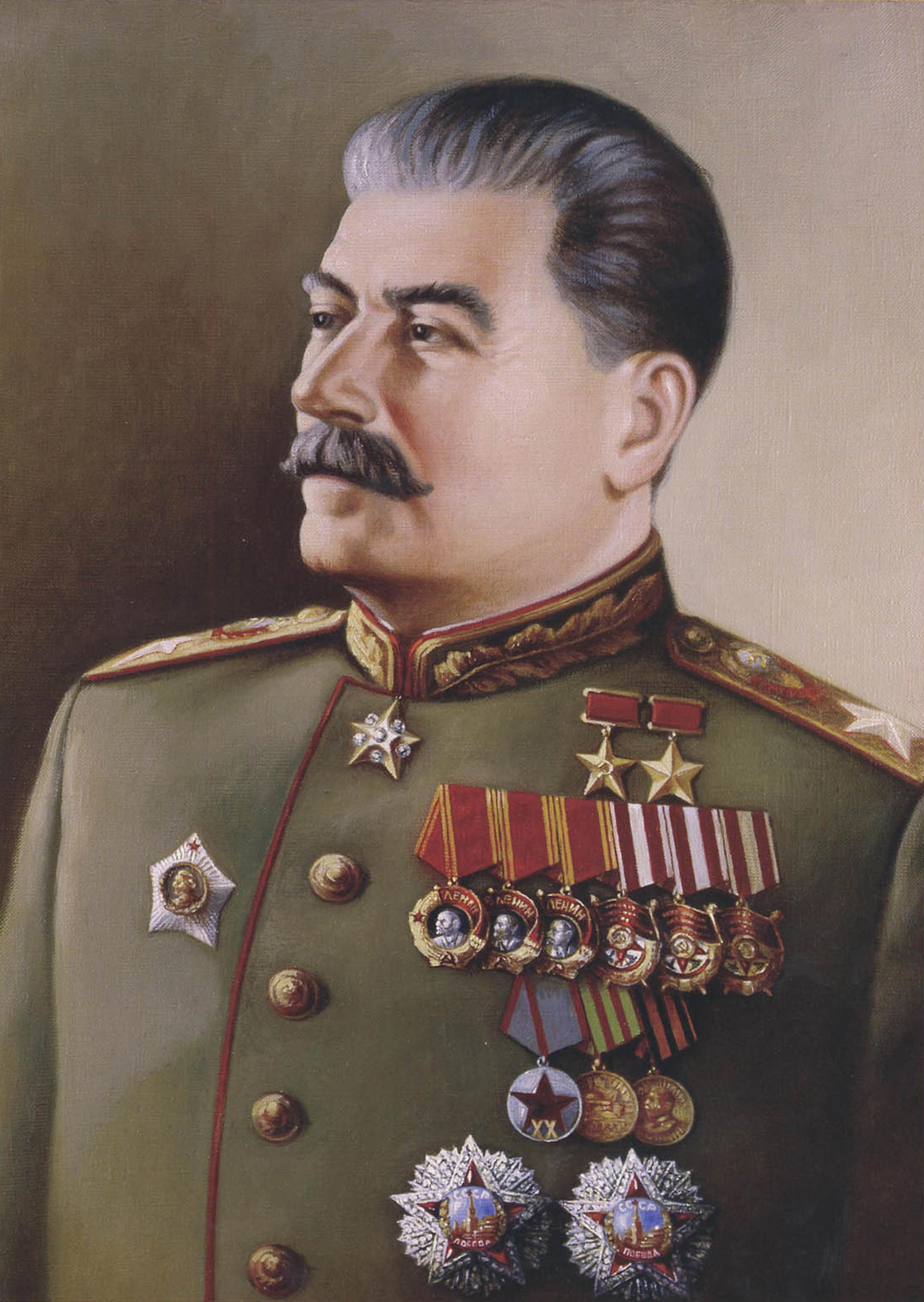 Иосиф Сталин - человек, переломивший хребет фашизму