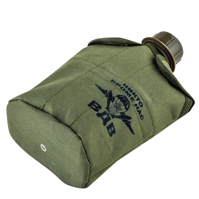 Купить армейскую флягу в термочехле с символикой ВДВ в Военпро