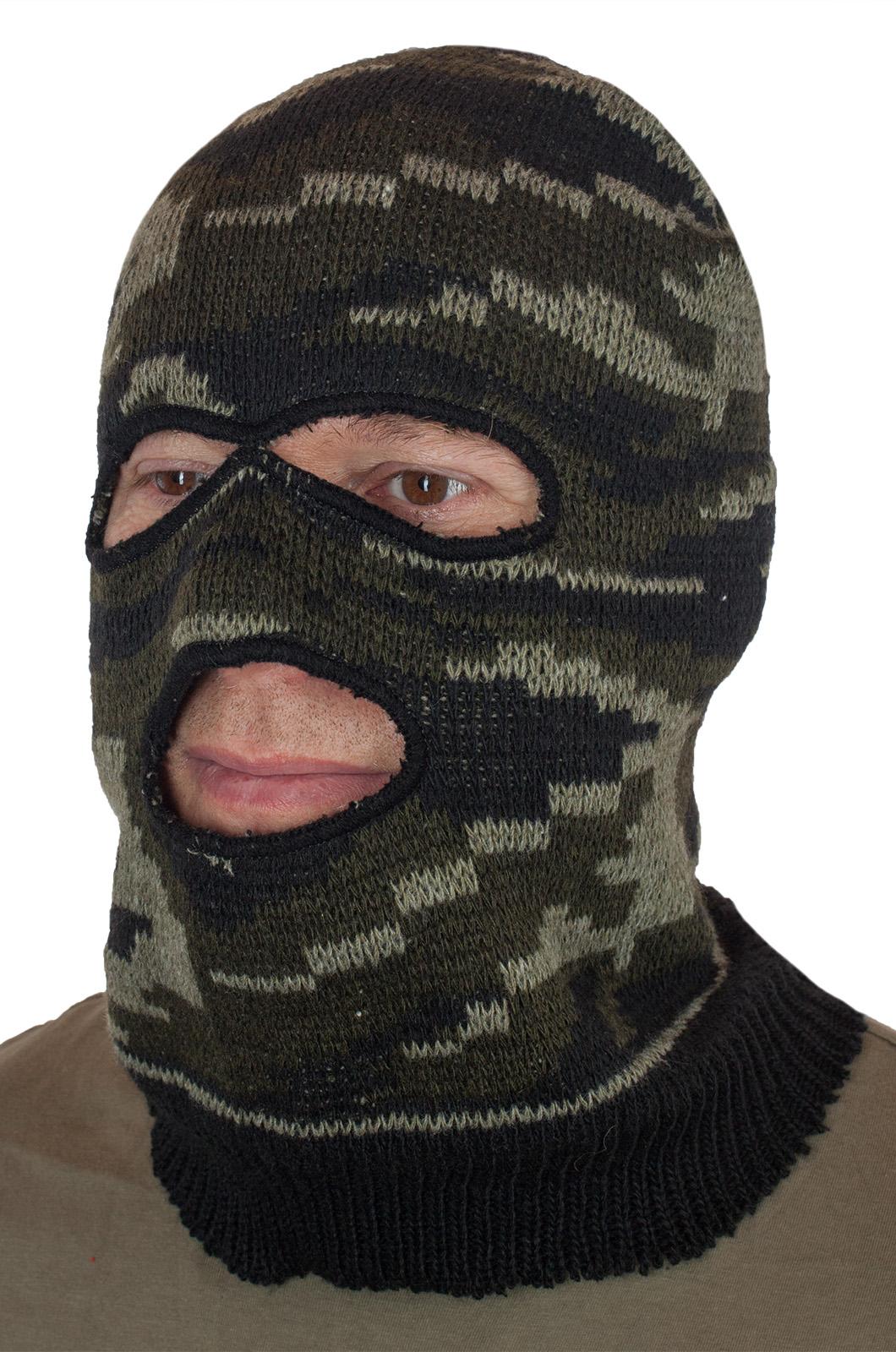 Купить армейскую маску камуфляжную в Военпро