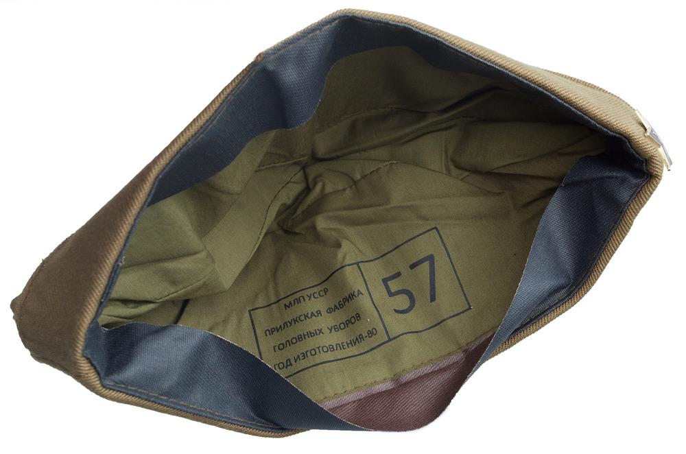 Фабричная этикетка на армейской пилотке