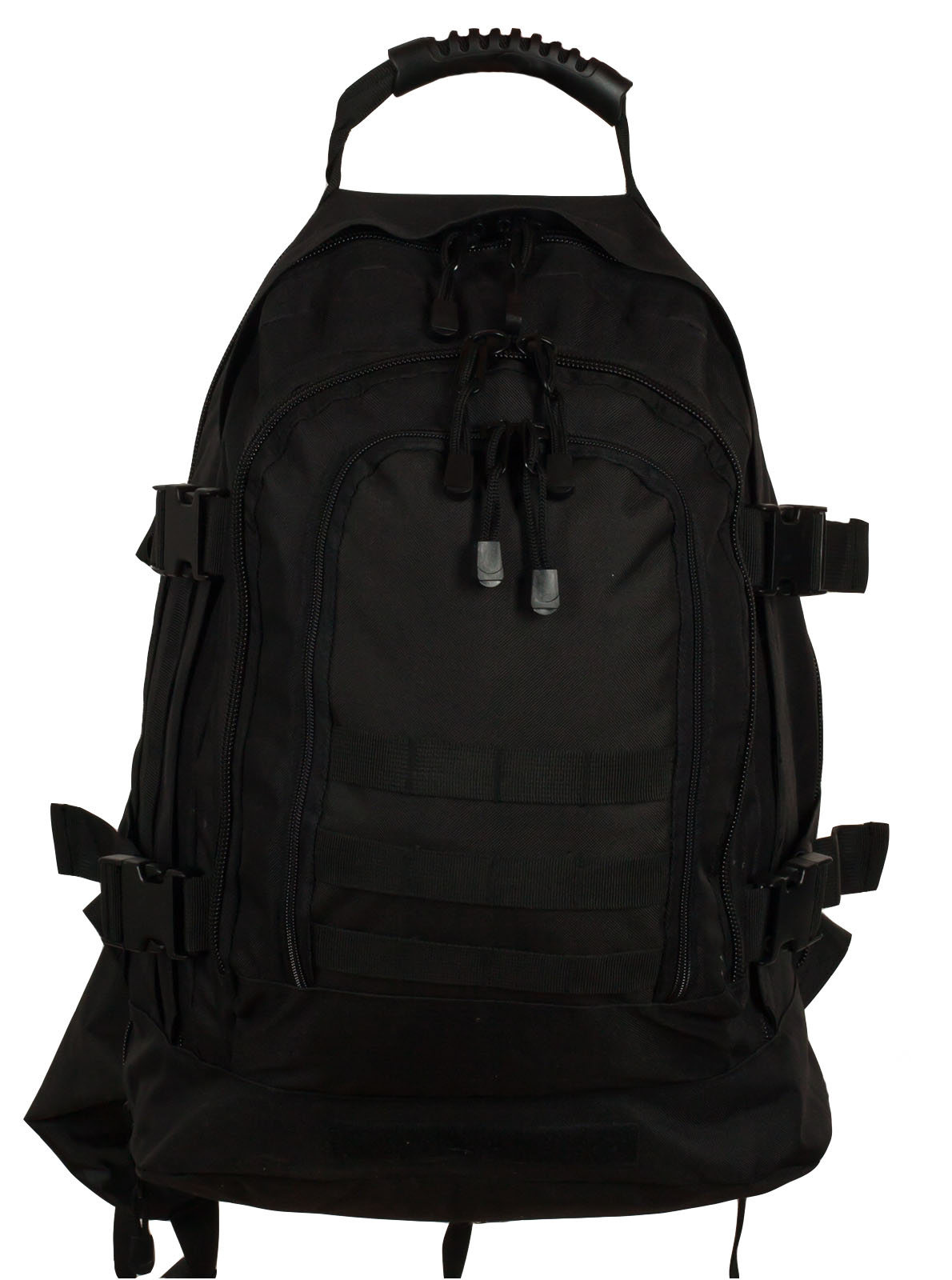Черный армейский рюкзак 3-Day Expandable Backpack 08002A Black в военторге Военпро