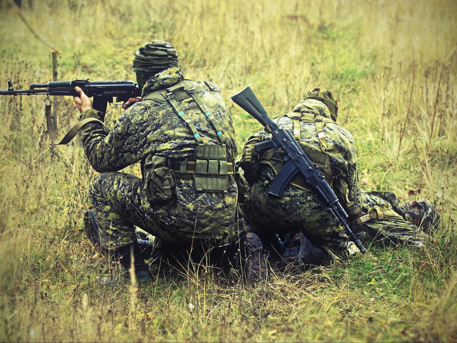 Бойцы подразделения разведки на Северном Кавказе