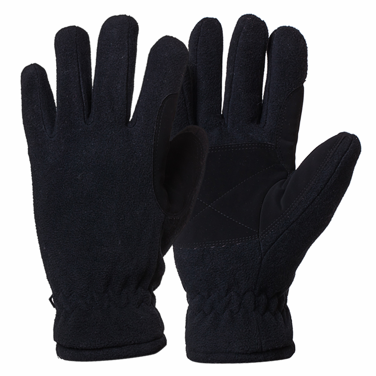 Флисовые перчатки для зимы купить в Военпро