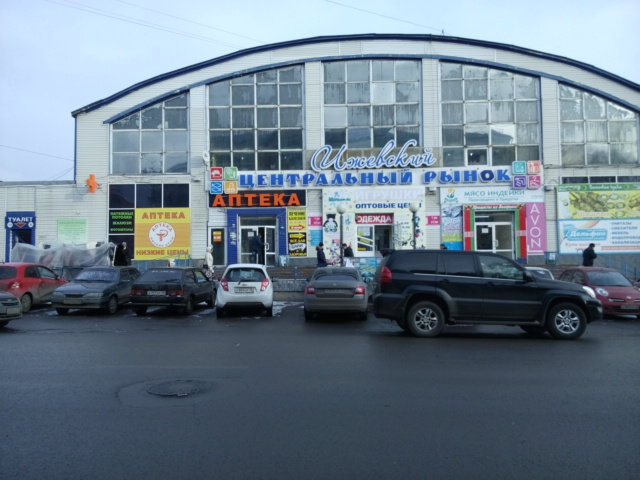 """477dbb0b2ed Рынок одежды """"На Сенной"""" (Центральный) в Ижевске пользуется большой  популярностью среди горожан"""