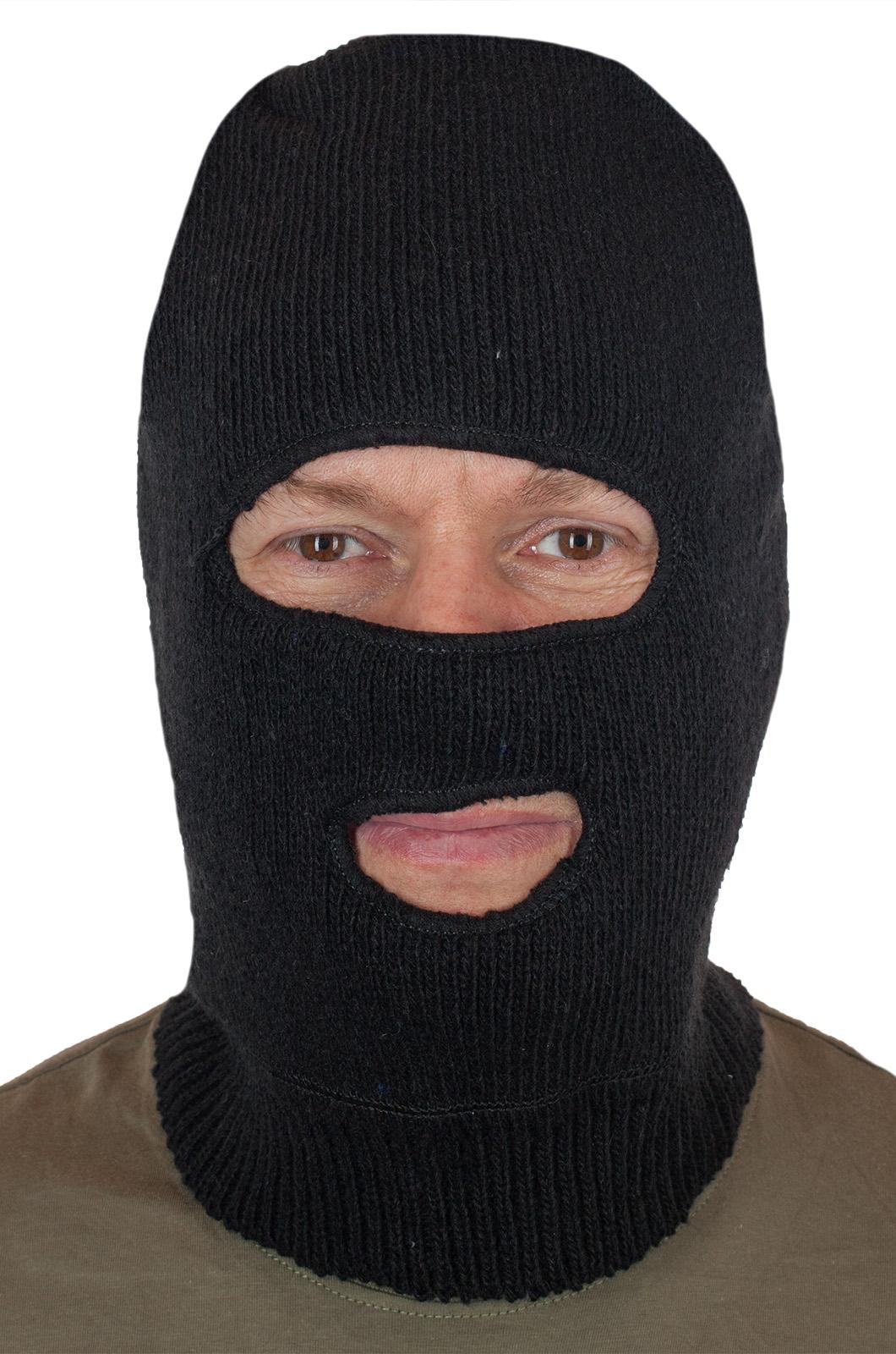 Купить маску Спецназа (полушерсть, флис) недорого