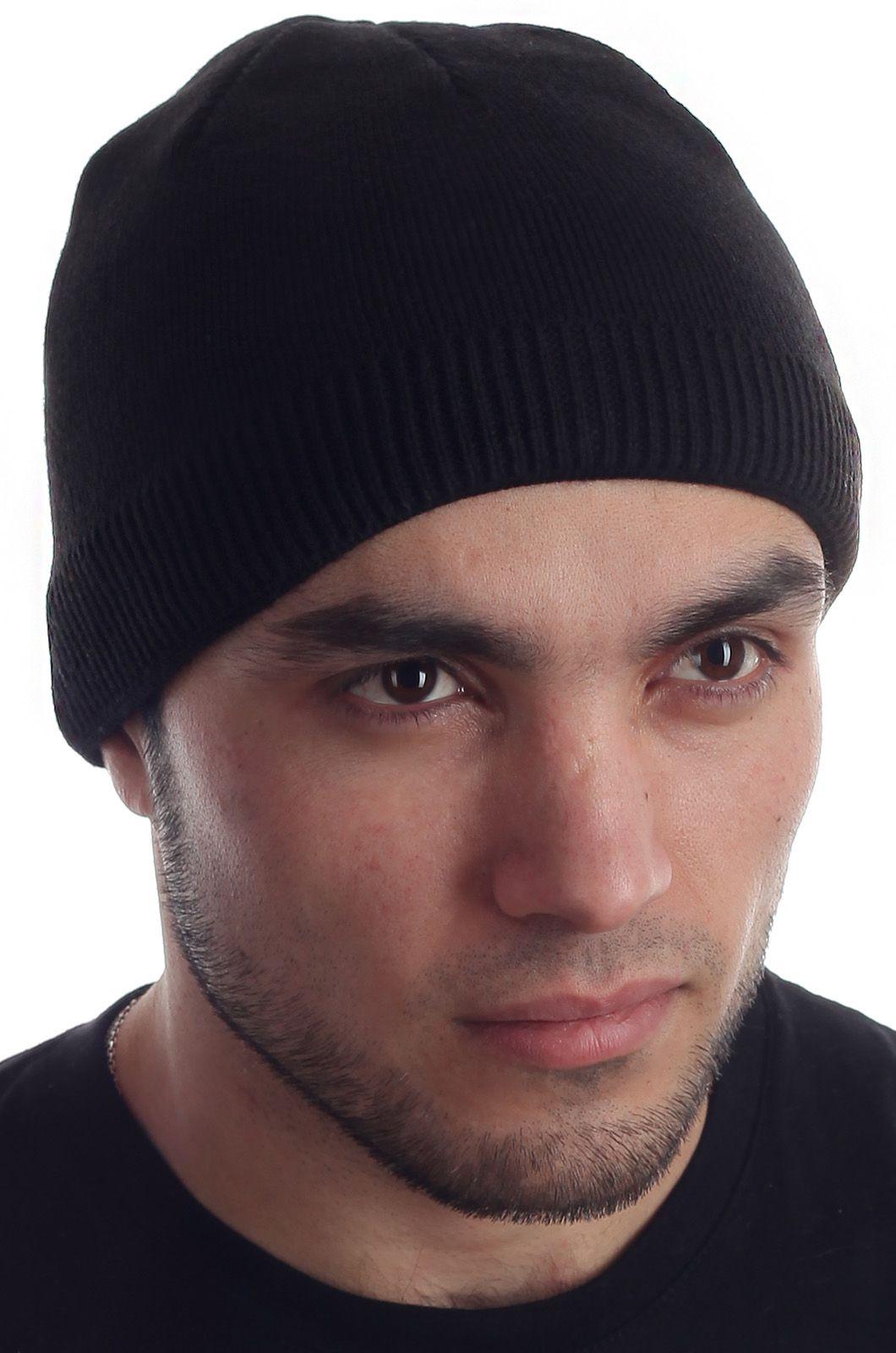Мужская зимняя шапочка с флисом