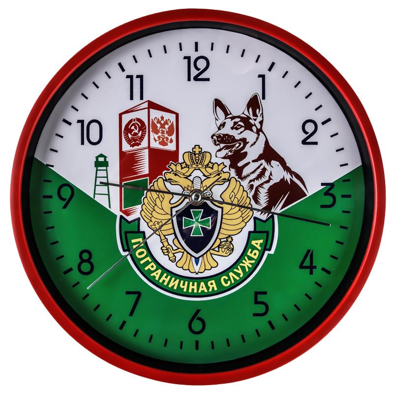 Настенные часы с пограничной картинкой