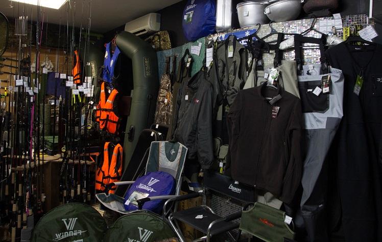 Товары для охоты и рыбалки