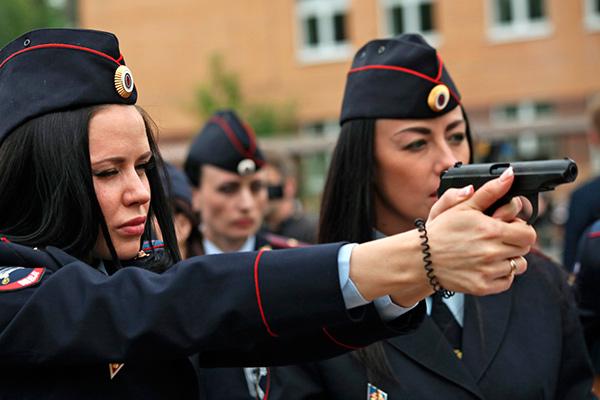 женская пилотка полиции фото