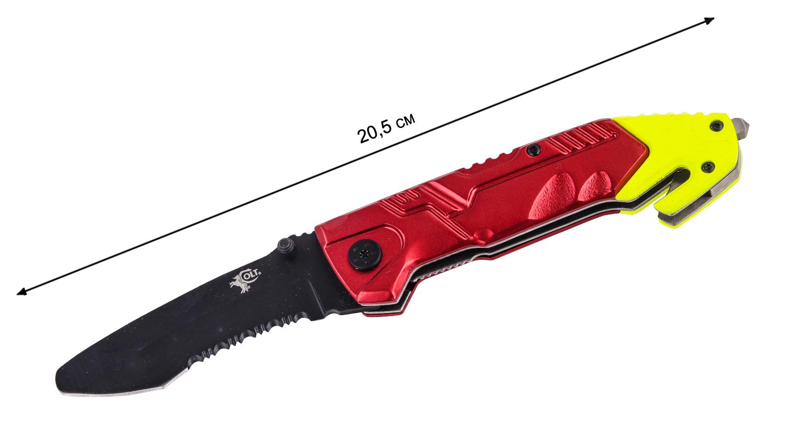 Спасательный нож со стеклобоем Colt Rescue Linerlock CT492 (США) в военторге Военпро