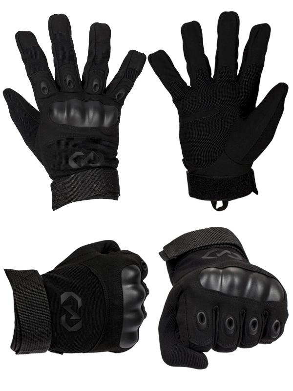 Заказать тактические перчатки с кевларовыми вставками