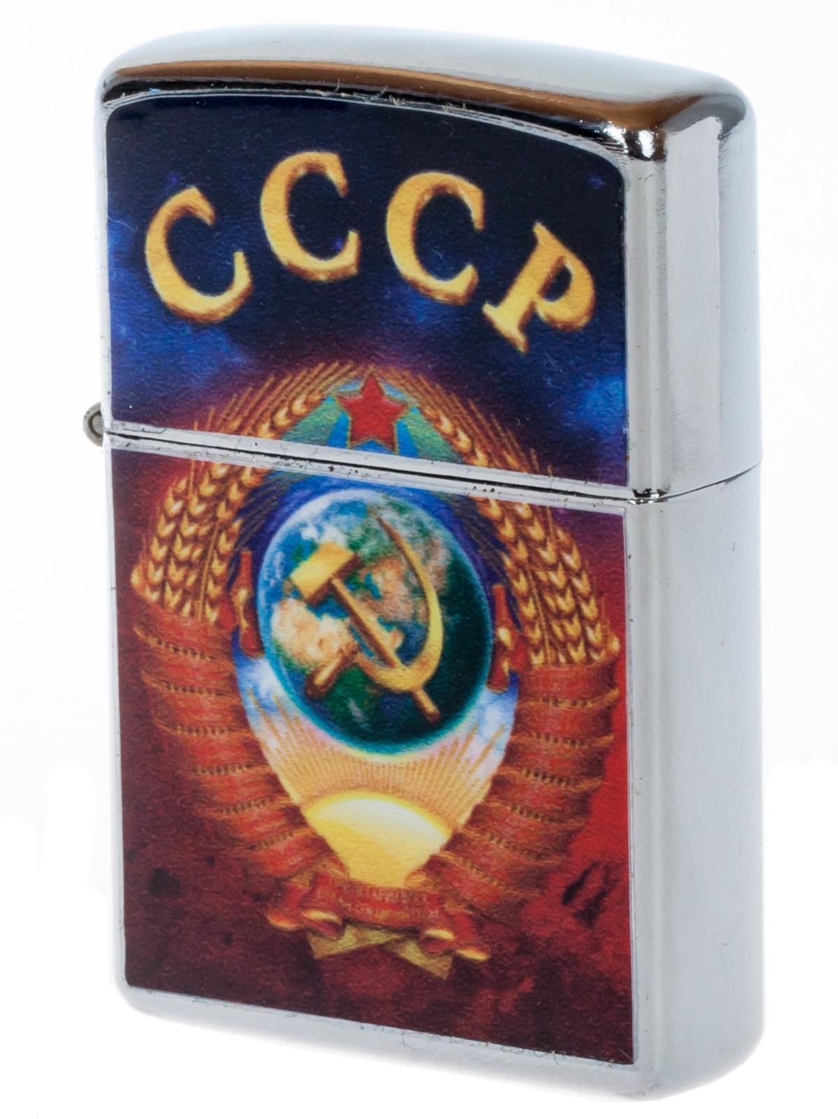 """Зажигалка """"Эпоха СССР"""" с цветным изображением"""
