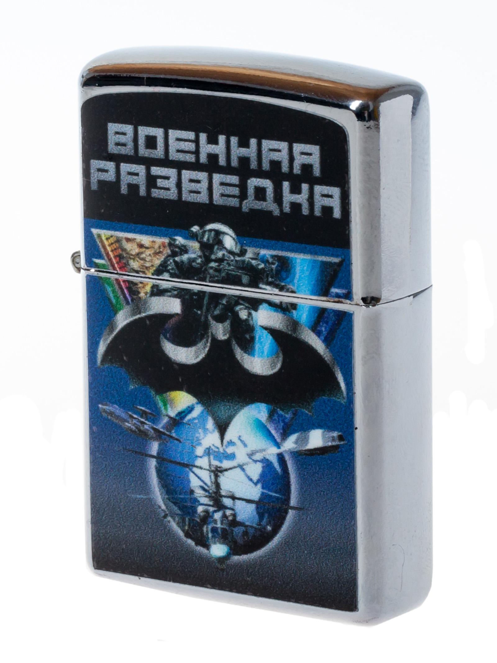 """Зажигалка """"Разведка военная"""" с авторским рисунком"""